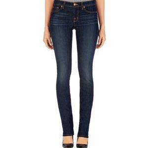 J Brand Ink Mid Rise Cigarette Leg Blue Jeans